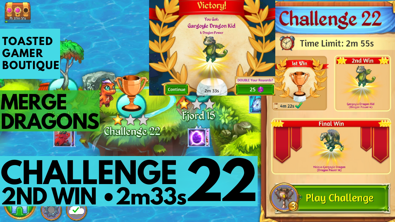 Merge Dragons Challenge 22