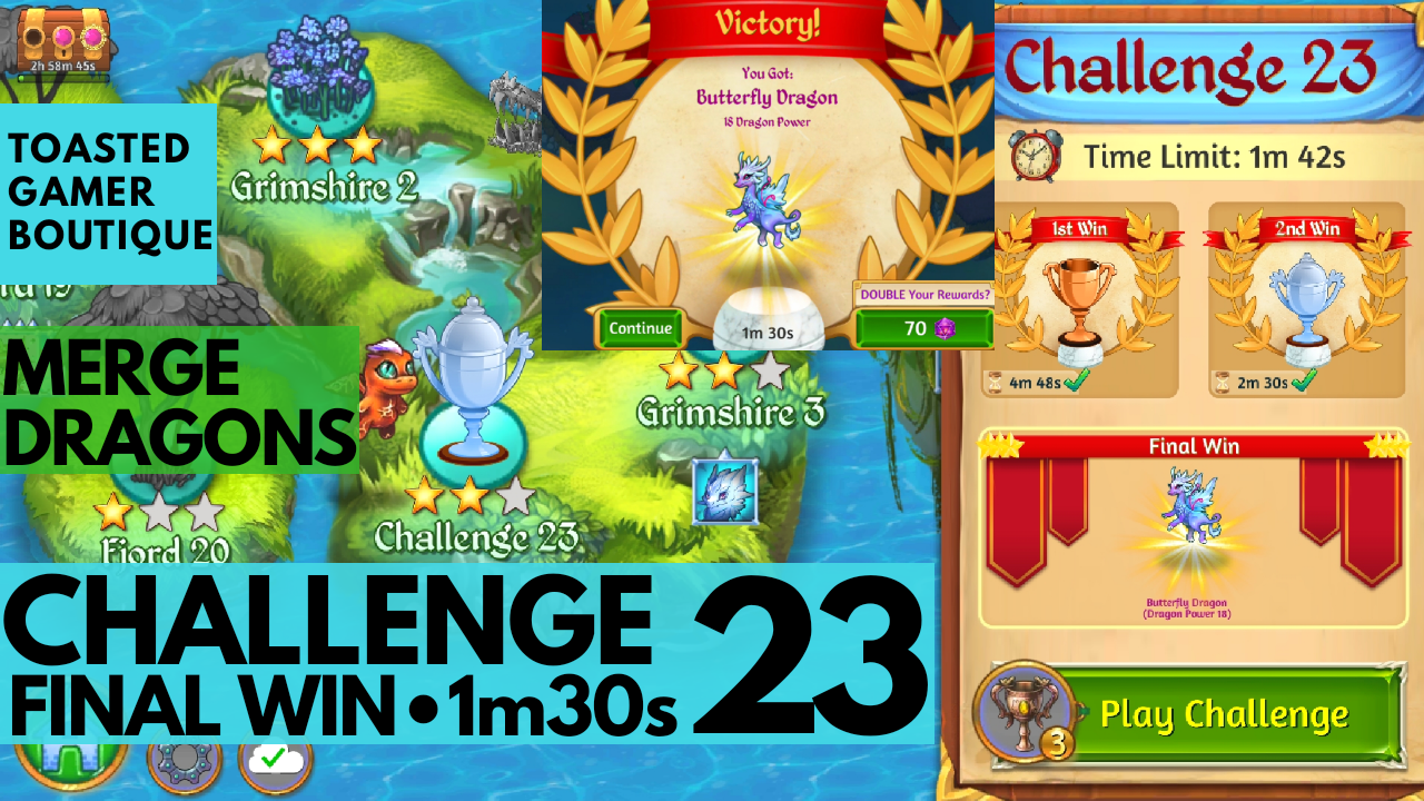 Merge Dragons Challenge 23