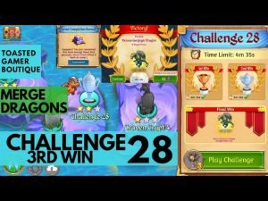 Merge Dragons Challenge 28 Final Win | 3m31s