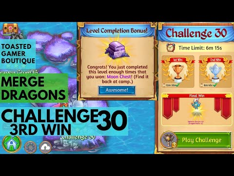 Merge Dragons Challenge 30 Final Win
