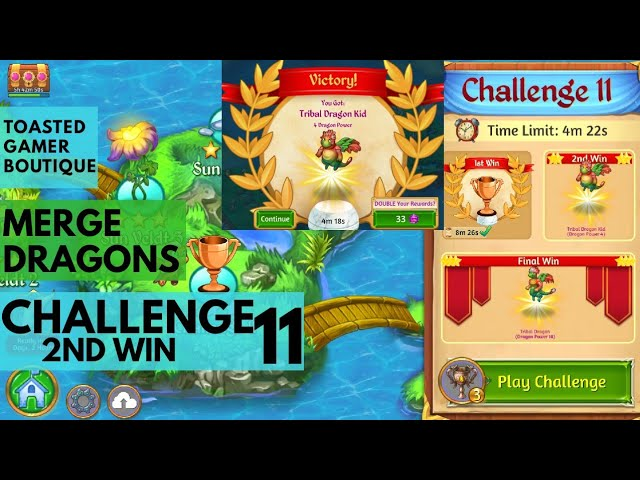 Merge Dragons Challenge 11