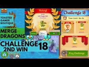 Merge Dragons Challenge 18