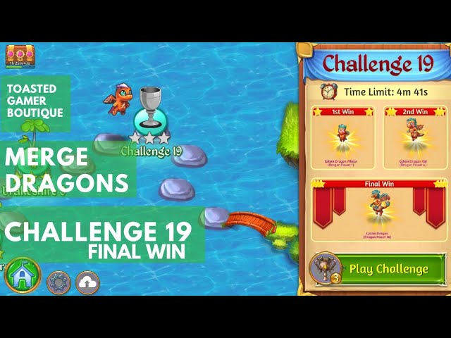 Merge Dragons Challenge 19 Final Win