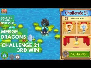 Merge Dragons Challenge 21 Final Win