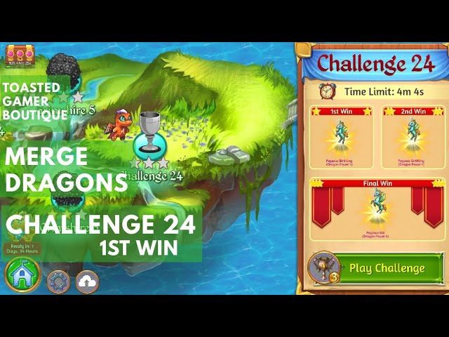 Merge Dragons Challenge 24
