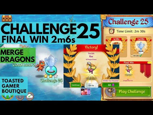 Merge Dragons Challenge 25
