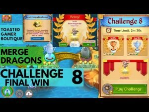 Merge Dragons Challenge 8 Final Win | 1m53s