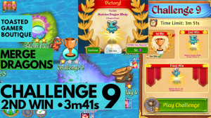 Merge Dragons Challenge 9
