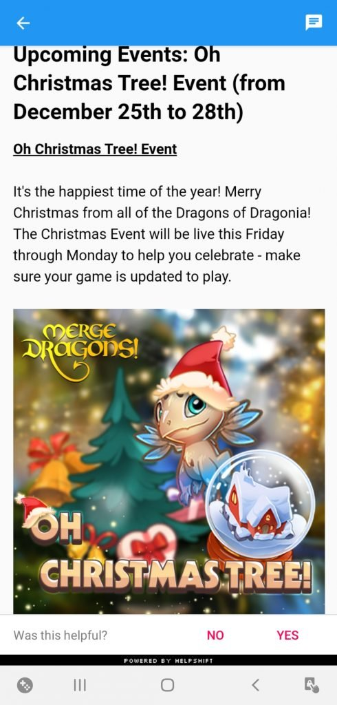 Merge Dragons Christmas Events 2021 Merge Dragons Christmas Event Guide 2020 Happy Holidays